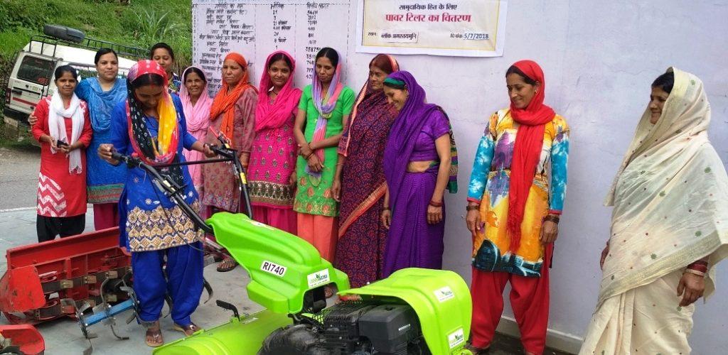 श्रीजन परियोजनाः किसानों की आय बढ़ाने के लिए खेतों में उतरेंगे पावर टिलर